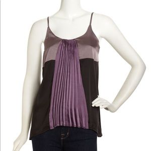 Patterson J Kincade pleated camisole